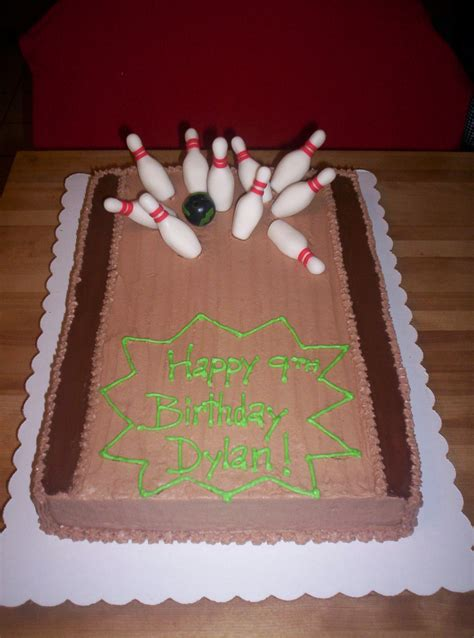 bowling cakes decoration ideas  birthday cakes