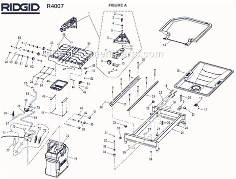 ridgid r4007 parts list and diagram ereplacementparts com