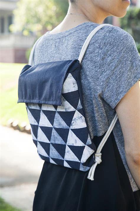school diy minimalist backpack designsponge