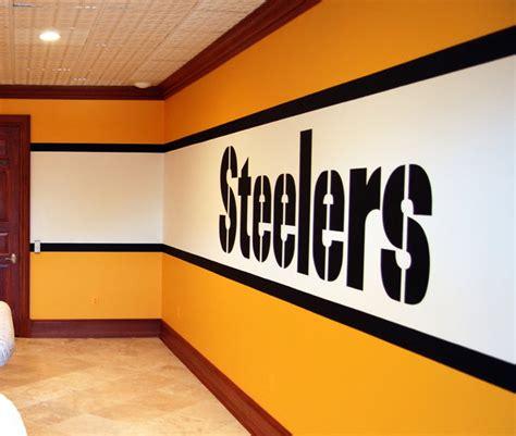 Pittsburgh Steelers 1970's Locker Room Mural by Tom Taylor