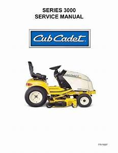 Cub Cadet 3000 Series Service Manual