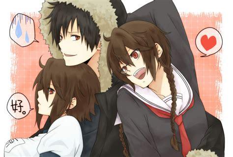 orihara siblings anime photo  fanpop