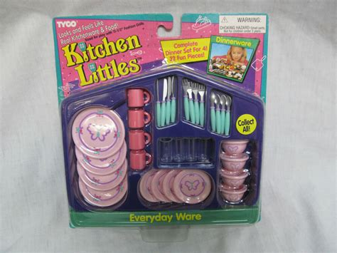 brand   barbie tyco kitchen littles everyday ware dinnerware ebay