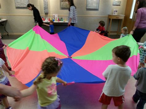 preschool thrive after three 857 | parachute play