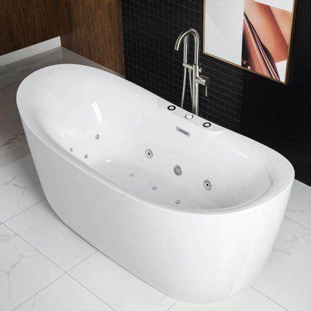 woodbridge    freestanding bathtub whirlpool water