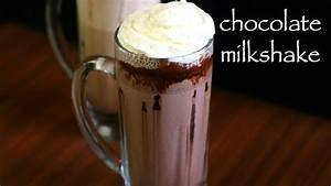 chocolate milkshake recipe | chocolate shake | homemade ...