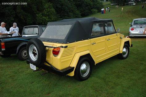 1973 Volkswagen Type 181 Thing At The Pvgp Car Show