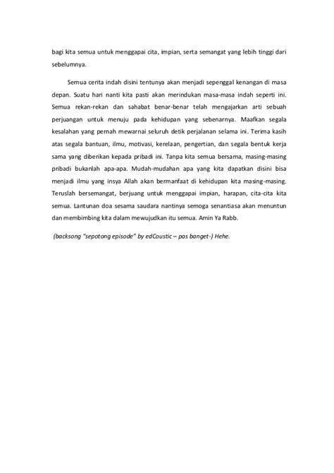 contoh surat perpisahan kantor  bahasa inggris surat
