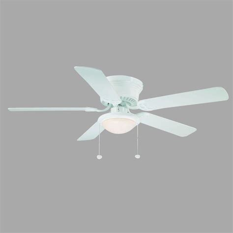 when should i use a white ceiling fan hugger 52 in white ceiling fan al383 wh the home depot