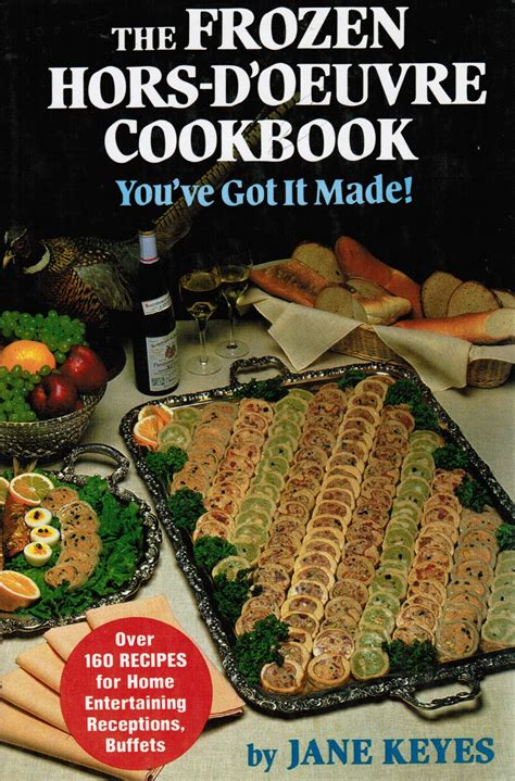 freezable canapes canapes hors d oeuvres recipes book covers