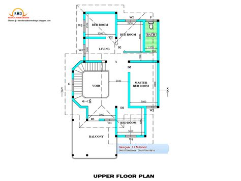 2300 Square Feet Free House Plan And Elevation