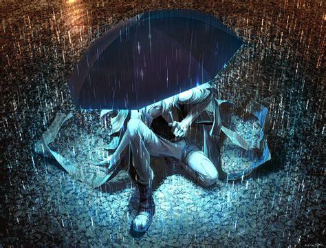 Anime Artwork Wallpaper - artwork anime umbrella original