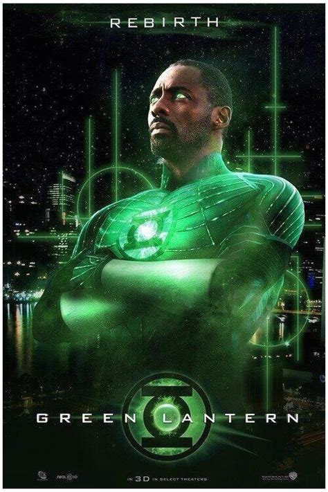 idris for green lantern huffpost