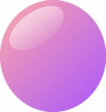 Bubble Purple Pink Clipart Oval Clip Garage