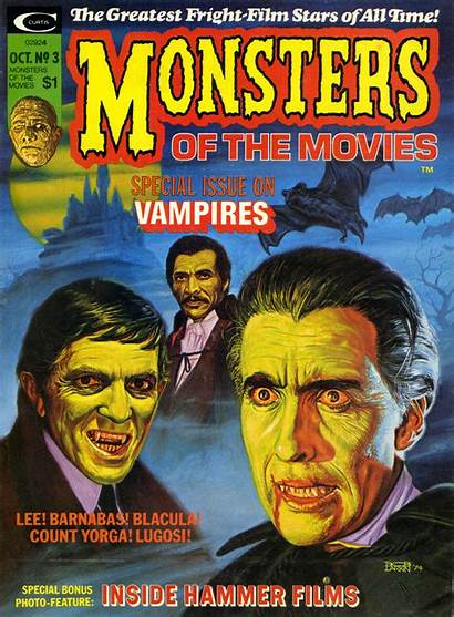 Monsters Monster Movies Blacula Horror Every Covers