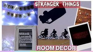DIY Stranger Things Room Decor ~ Tumblr Fandom Room Decor