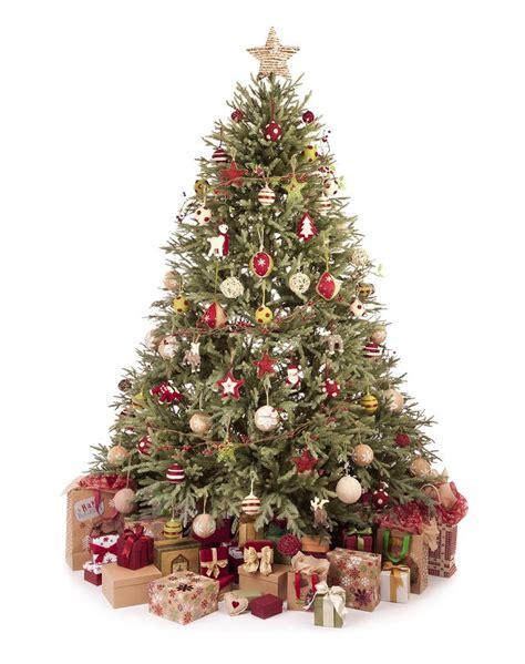 real  fake christmas trees