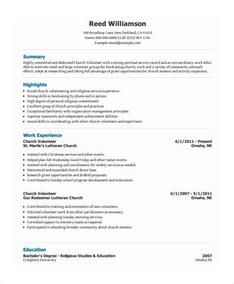 Resume for animal shelter