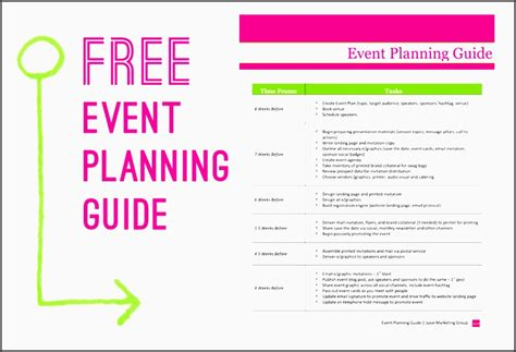 printable church event planning checklist