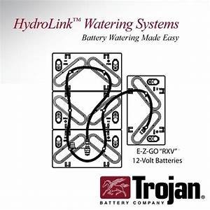 Trojan Hydrolink Battery Watering System Ezgo Rxv 48v T