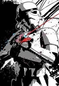 Star Wars Stormtrooper poster sized Pop Art print ...