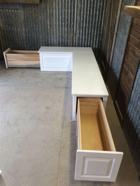 banquette corner bench seat   storage
