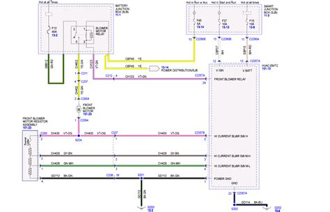 Need Wiring Diagram For Ford Escape The Heater Keeps