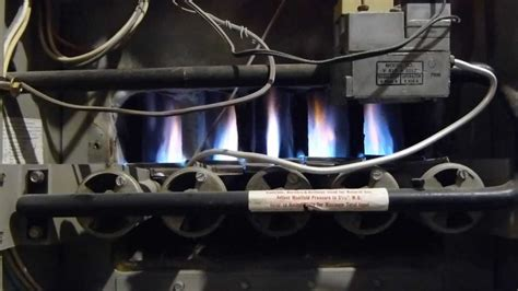 luxaire furnace startup  shutdown youtube