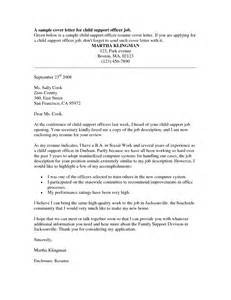 Resume For Entry Level Probation Officer Position by Resume Exles Templates Probation Officer Cover Letter Probation Officer Cover Letter Done