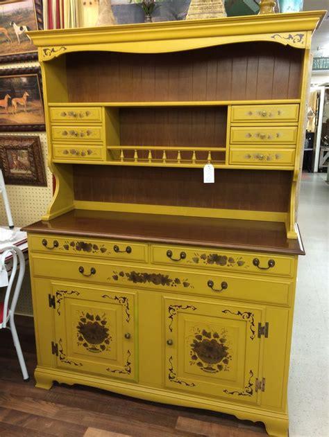 kitchen cabinet drawer heywood wakefield vintage cupboard original finish 2483