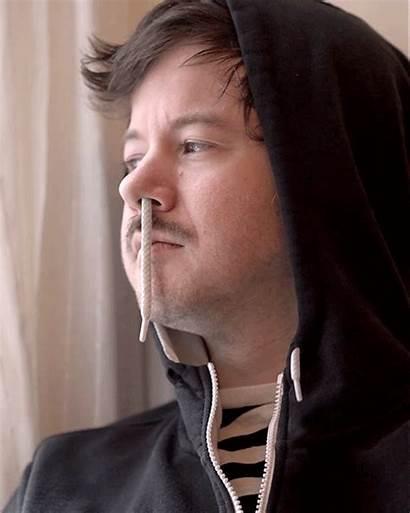 Romain Laurent Portraits Gifs Weird Nose Portrait