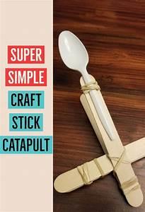 Create A Craft Stick Catapult