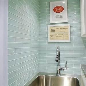 Sea glass backsplash kitchen for Sea glass backsplash kitchen