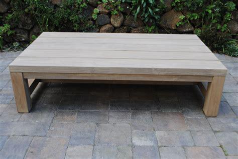 teak outdoor coffee table tuscany collection reclaimed teak coffee table paradise teak