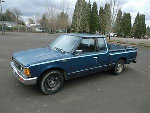 Purchase Used 1984 Nissan 720 Extended Cab