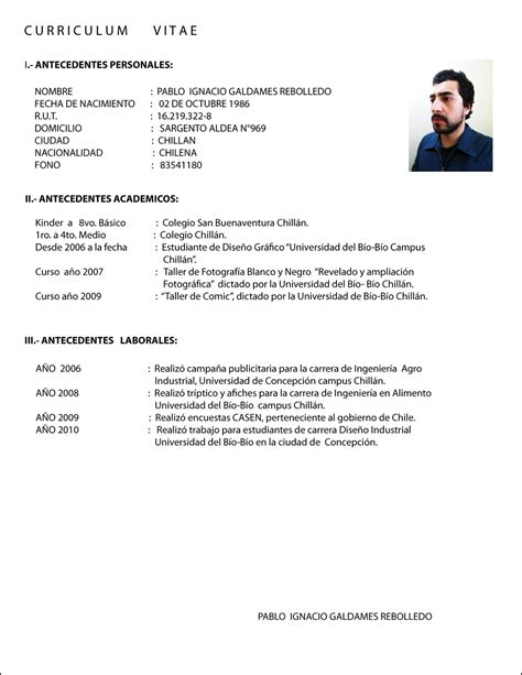 curriculum vitae images frompo