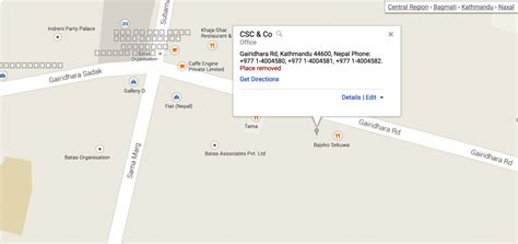 Site Map  Csc & Co