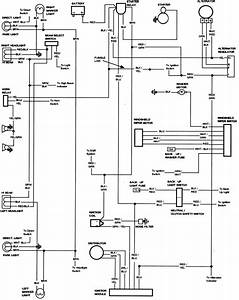 Schematic Wiring Diagram 1977 Ford Bronco