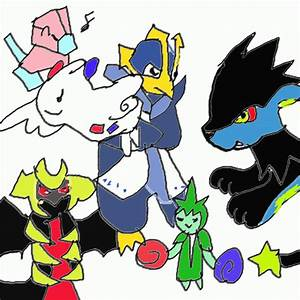 My Pokemon Platinum Team By Chibixi On Deviantart