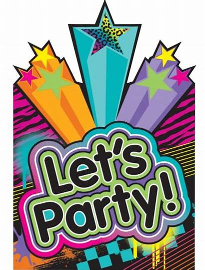 Disco Party Invitations 80 80s Decorations Invites