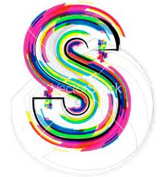 Colorful Letter S Fonts