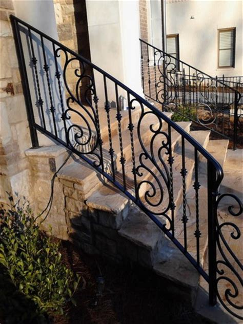 wrought iron handrail decorative outdoor handrails to add the of the 1193