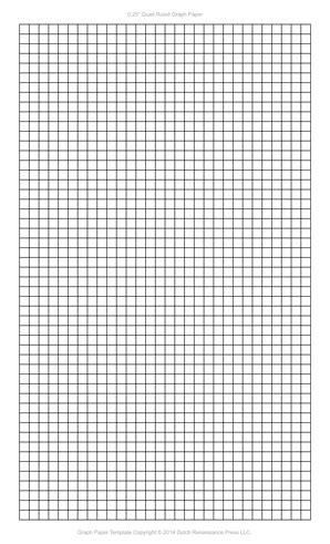 graph paper template legal  printable graph