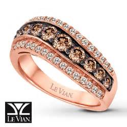 chocolate gold engagement rings gold rings strawberry gold rings with chocolate diamonds