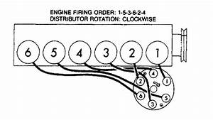 Firing Order For A 64 Chevy Belair 230 Engine