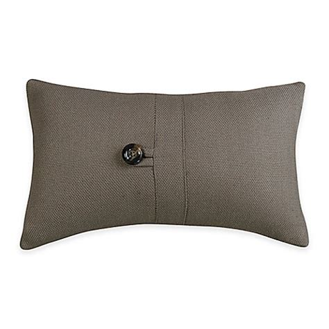 Small Bed Pillows by Hiend Accents Small Oblong Throw Pillow In Grey Bed Bath