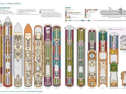 Veendam Deck Plan 2014 by Carnival Balcony Sizes Carnival Ship Deck