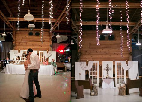 Barn Wedding Decorations : Texas Barn Wedding With Country Wedding Decorations