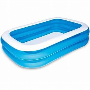 Grande Piscine Pas Cher : piscine gonflable rectangulaire achat vente piscine ~ Dailycaller-alerts.com Idées de Décoration