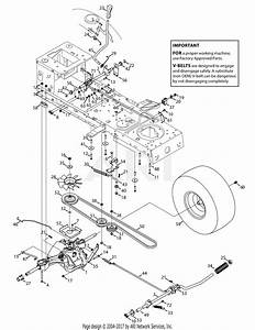 Troy Bilt 13cx79kt011 Horse Xp  2015  Parts Diagram For